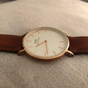 Daniel Wellington Classic St. Mawes Gold Watch